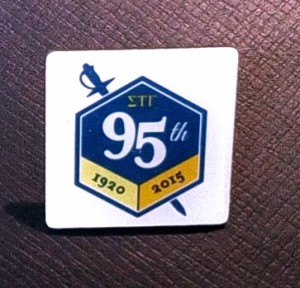 95TH ANNIVERSARY PIN