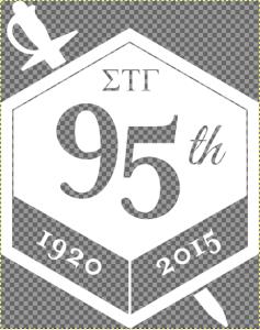 Badge Reversed Transparency Sample